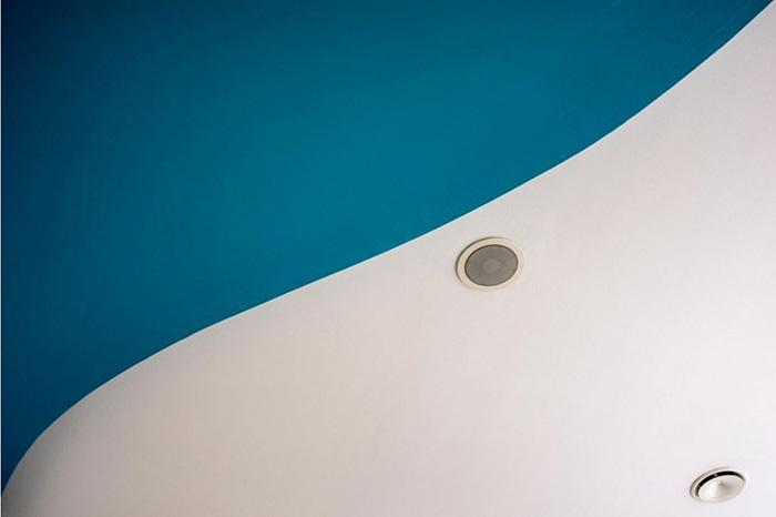 Sotto la lente 69: una foto astratta sul soffitto