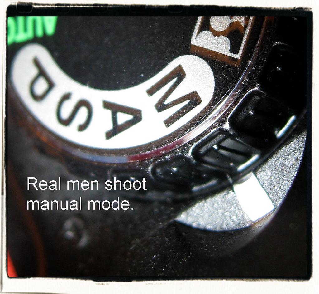 Se non scatti in manuale non sei un fotografo! (Ma è vero?)