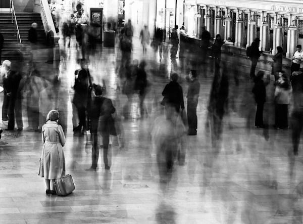 Street Photography - Attesa in stazione