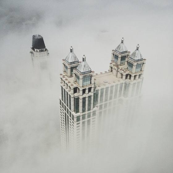 Cocu_Liu_fotografare_iPhone_palazzi_nebbia