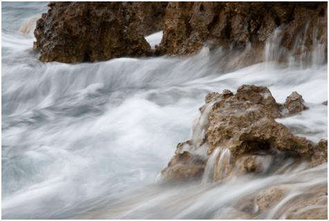 Come trasformare l'acqua in seta (nelle foto, si intende)