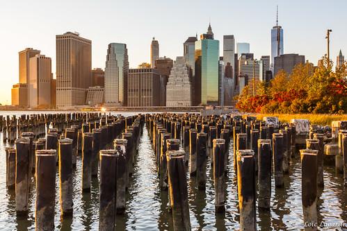Golden Hour NYC Skyline by Loïc Lagarde, on Flickr
