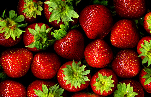 Strawberries by *clairity*, on Flickr