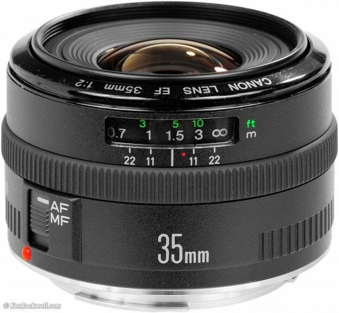 Il mio obiettivo preferito: Canon 35mm f/2