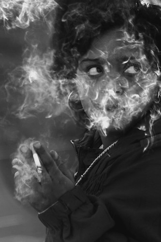 I am fading among my own smoke by HAMED MASOUMI, on Flickr