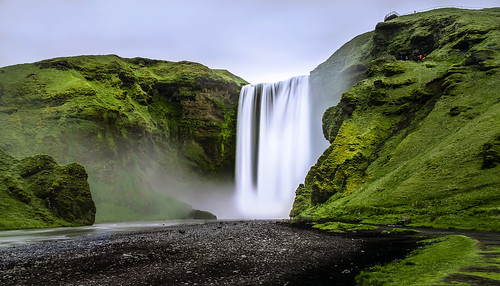 foto di una cascata