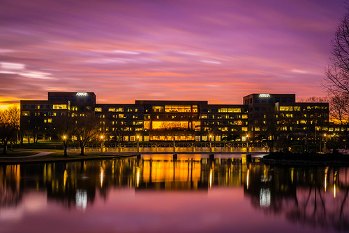 ADTRAN Sunset in HDR