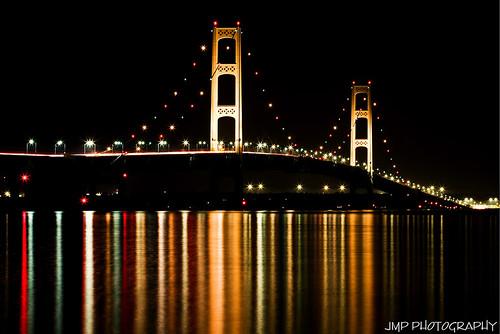 Mackinac Bridge by James Marvin Phelps, on Flickr