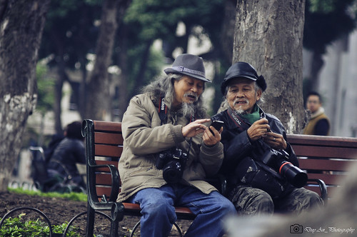 Two old photographers