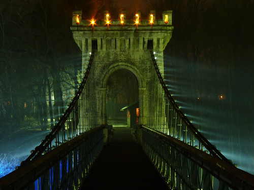 There is light at the end of the bridge by DomiKetu, on Flickr