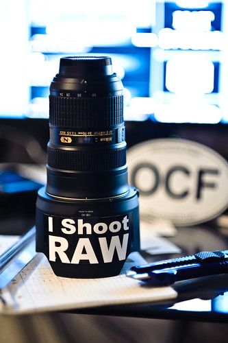 I shoot RAW stickers by jaredpolin, on Flickr