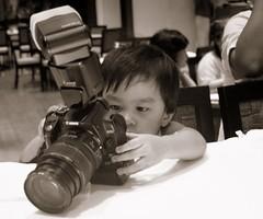 small hands, big camera