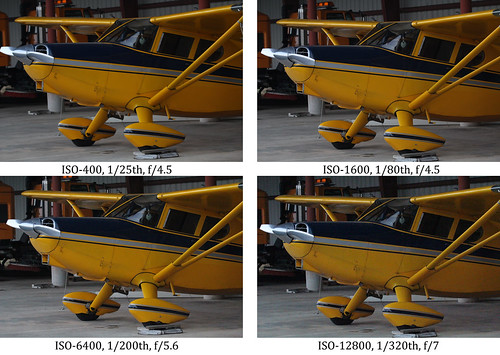 Canon EOS 60D ISO Noise Comparison by Roger Smith, on Flickr