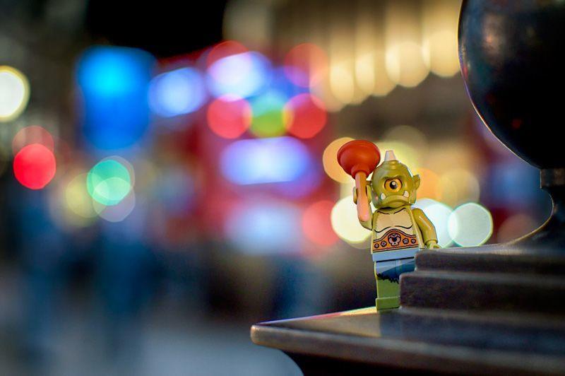 Migliora la mia foto #31: un esempio di toy photography