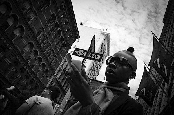 fotografia strada foto diagonale
