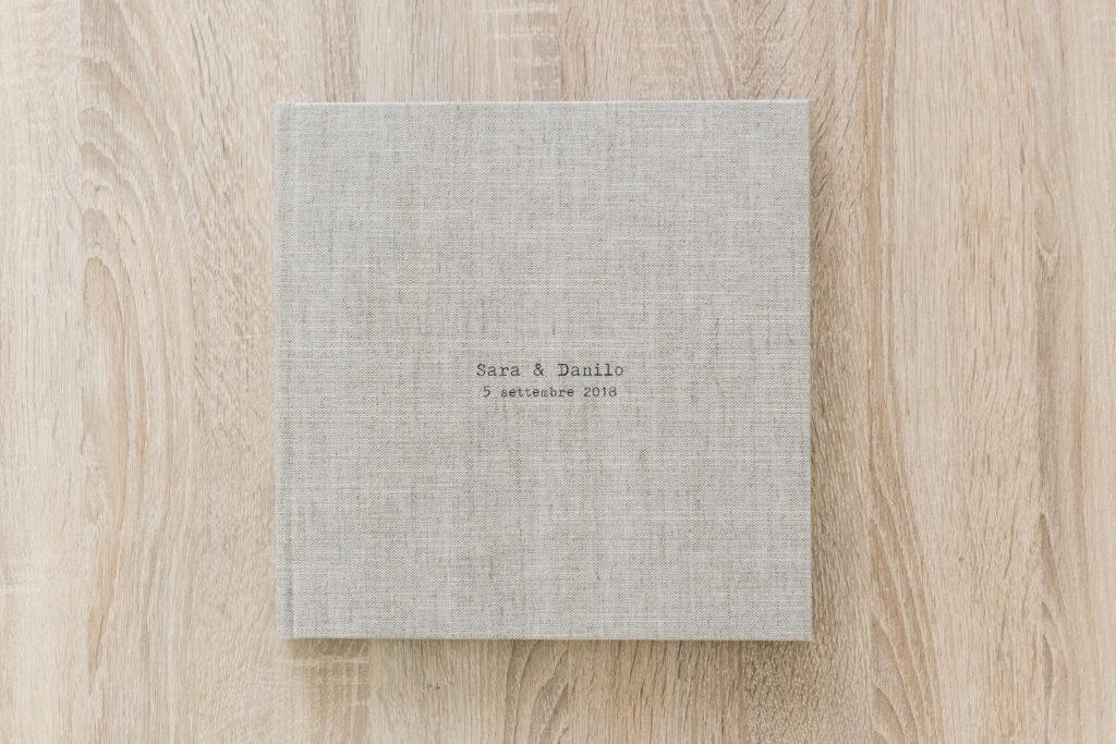 Fotolibro Professional Line Saal Digital - la copertina coi nomi