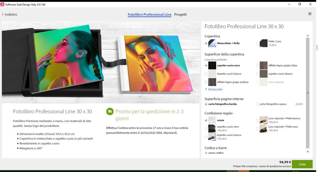Fotolibro di saal digital - Professional Line 4