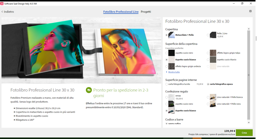 Fotolibro di saal digital - Professional Line 5