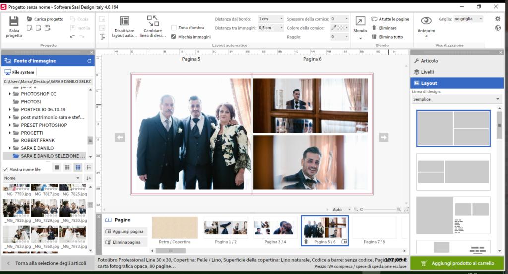 Fotolibro di saal digital - Professional Line 8