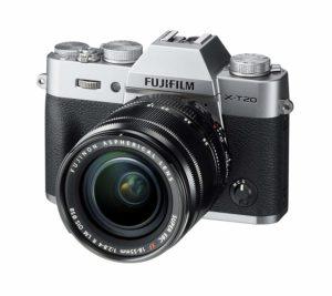 mirrorless Fujifilm fascia media